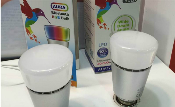 ADATA provides AURA RGB Bluetooth LED bulb