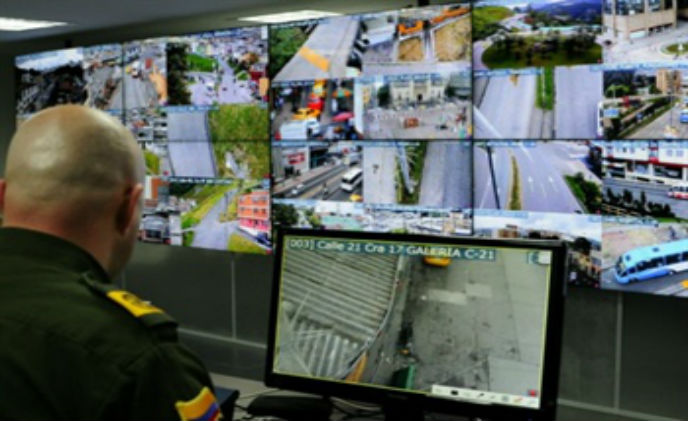 IndigoVision assisted Manizales police with pursuit of criminals