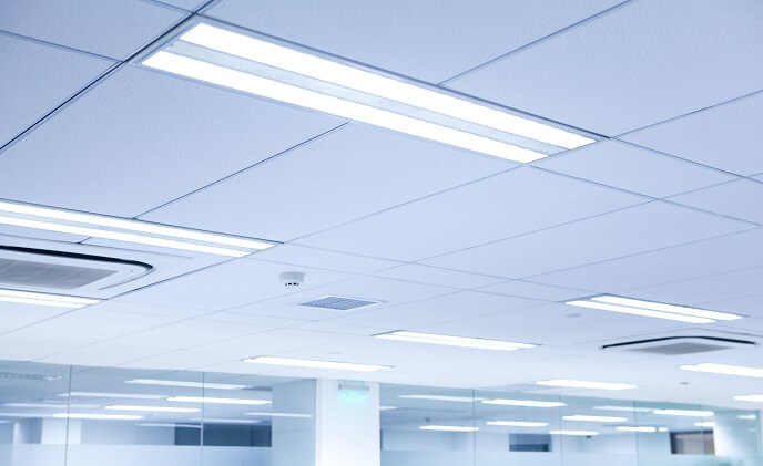 Lights increasingly become data points in office buildings
