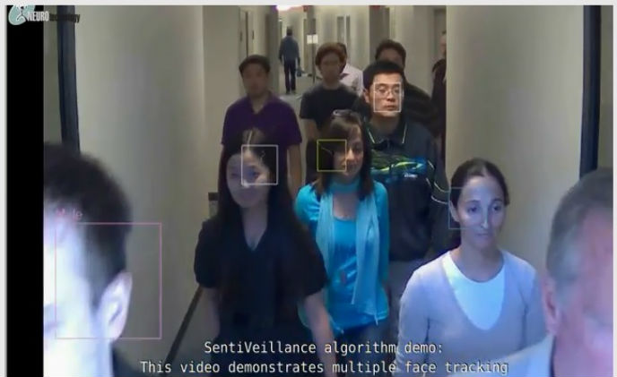 Neurotechnology SentiVeillance provides biometric identification and object tracking for video surveillance systems