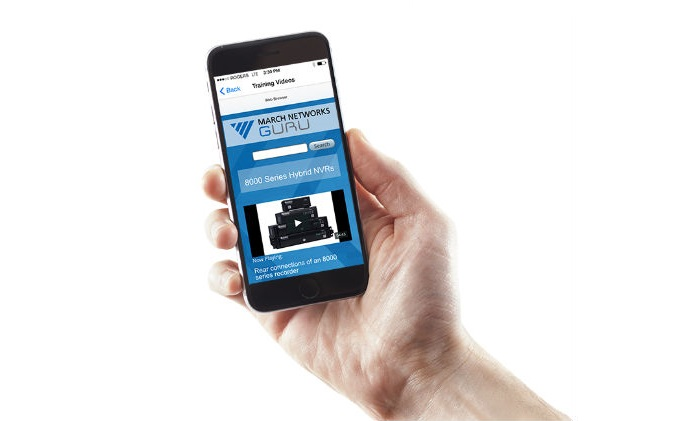 March Networks adds new capabilities to GURU smartphone app