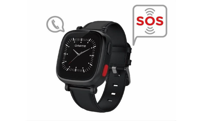 Omate senior smartwatch Wherecom S3 supports GPS Tracking, 3G and Wi-Fi communications