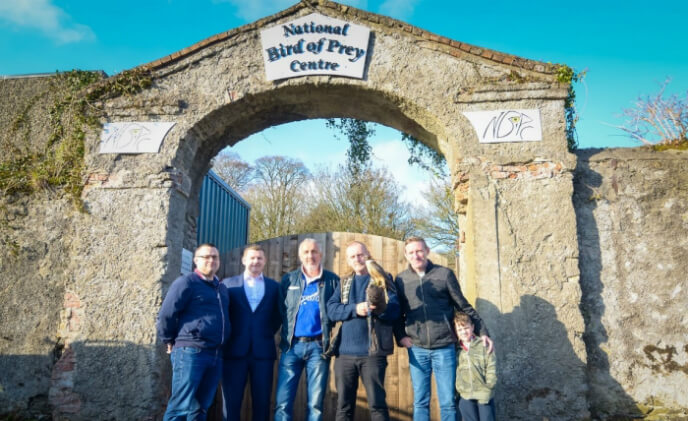 Anixter helps secure Ireland's National Bird Of Prey Centre
