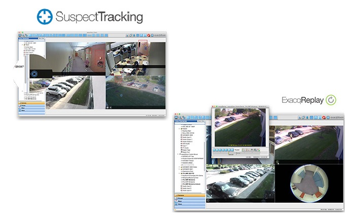 exacqVision 8.0 introduces suspect tracking