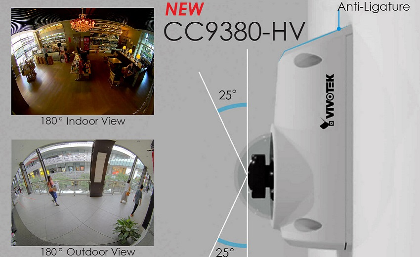 VIVOTEK Launches CC9380-HV Day/Night Surveillance Camera