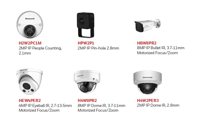 Honeywell Performance Series cameras upgraded to faster notify threats