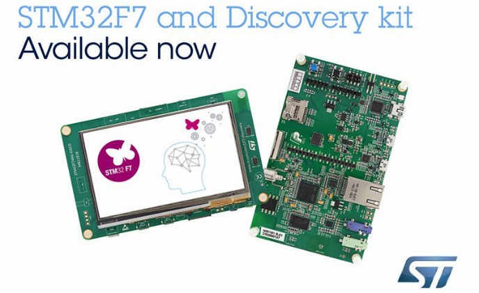 STMicroelectronics begins STM32F7 production of ARM Cortex-M7 microcontrollers