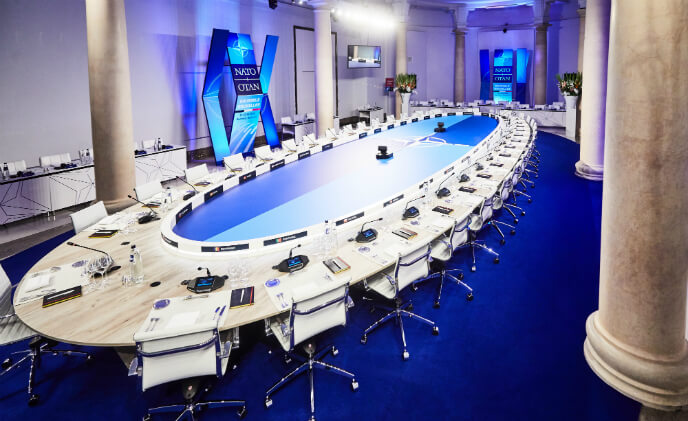 DICENTIS Conference System from Bosch selected for 2018 NATO summit