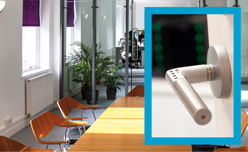 Thirst finds Code Handle an ideal locking solution for server and meeting rooms