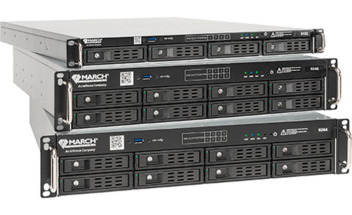 New video recorders from March Networks for high-performance video solution