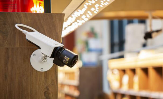 Premium affordable cameras for deterrent surveillance of buildings