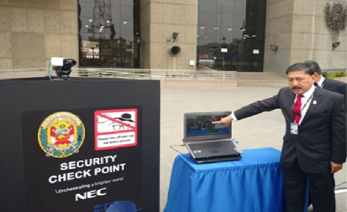 NEC enhances security at 2016 APEC Economic Leaders' week in Peru