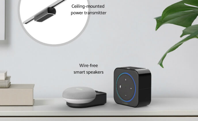 Wi-Charge unveils Wireless Power Kit for Amazon & Google smart speakers