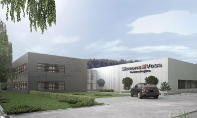 SimonsVoss new production and logistics centre move to Osterfeld, Germany
