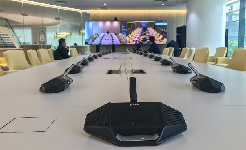 Bosch IP conference system for the state-of-the-art Viettel Group HQ in Hanoi