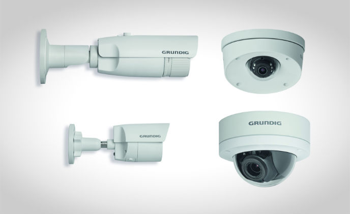 Grundig launches Connect IP 3MP camera range