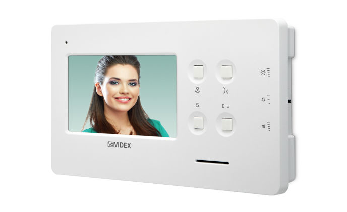 Videx releases new 4.3-inch hands-free video monitors