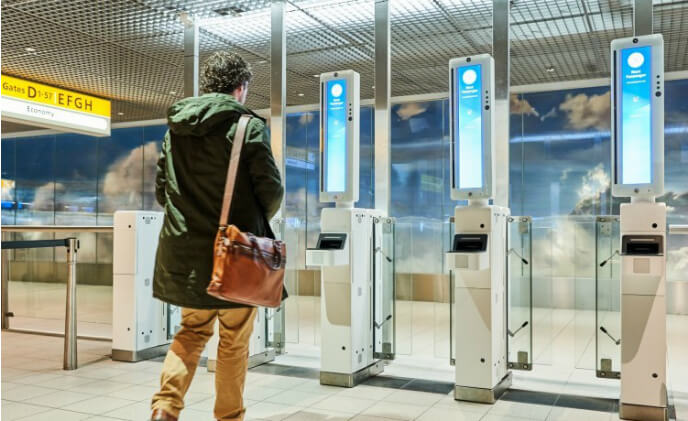 Schiphol Airport starts facial recognition boarding with Vision-Box