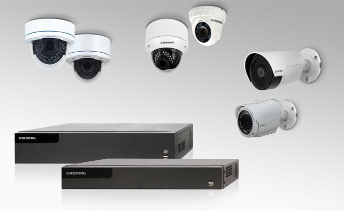 Grundig launches comprehensive TVI camera and recorder range