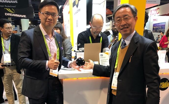 AIFA wows CES visitors with i-Ctrl