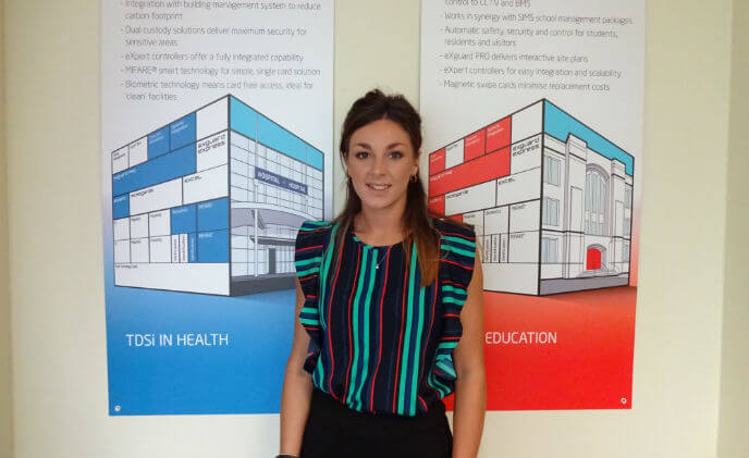 TDSi appoints new Internal Customer Care Advisor Madison Read