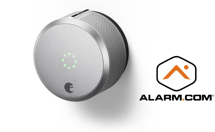 August Smart Lock announces integration with Alarm.com