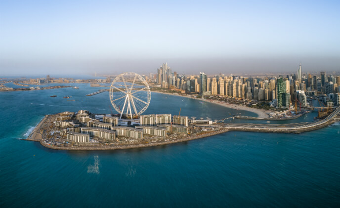 Maxxess eFusion plays central management role at Dubai Bluewaters Island