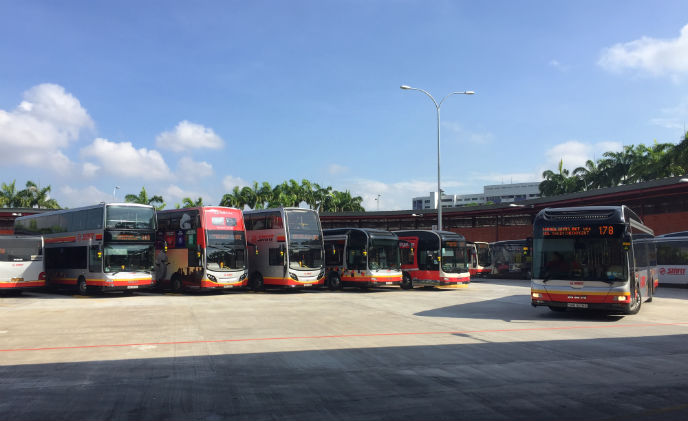 Nedap enables smart bus parking in Singapore