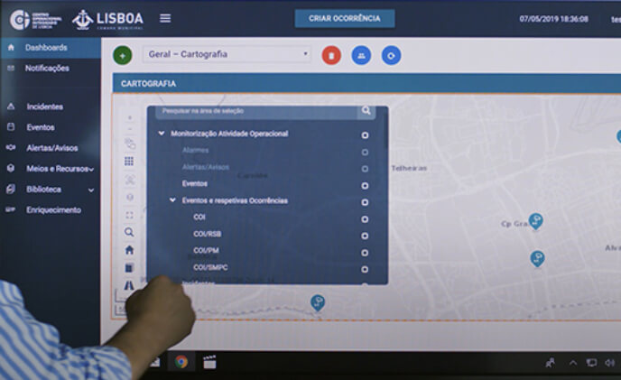 NEC's intelligent management platform makes Lisbon smarter