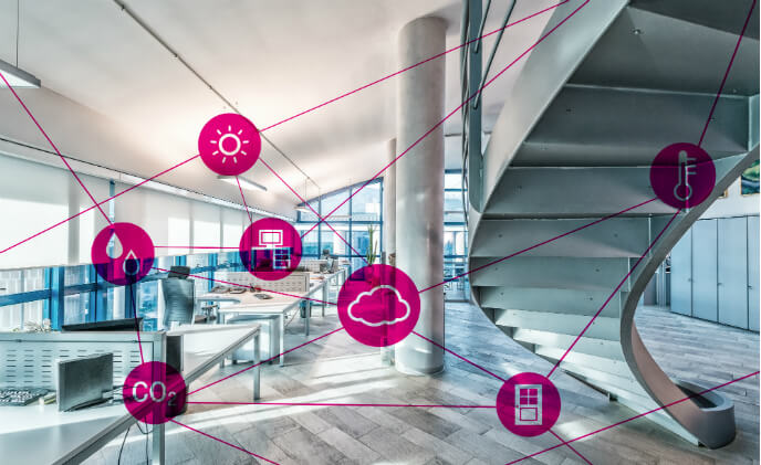 Telekom ensures good room climate from the network