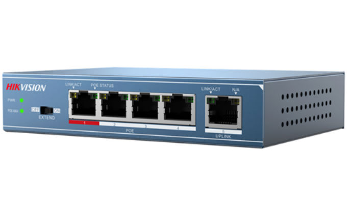 New Hikvision 3E Series PoE Switches deliver power, speed & distance