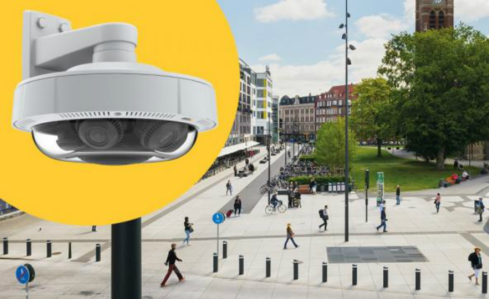 New Axis 4 In 1 Camera Offers 360 176 View In All Lighting