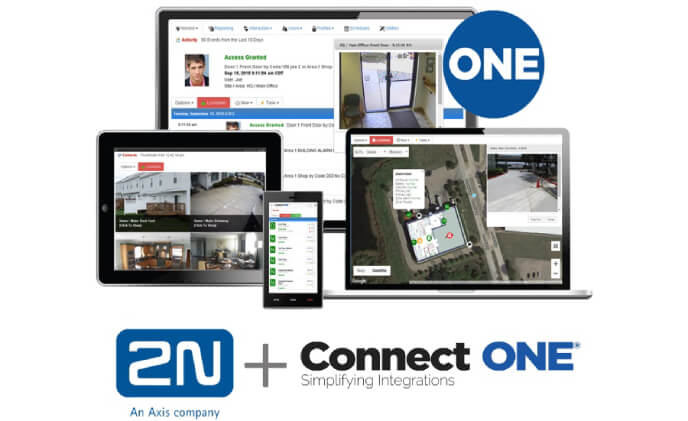 Connected Technologies and 2N partner to integrate door entry systems