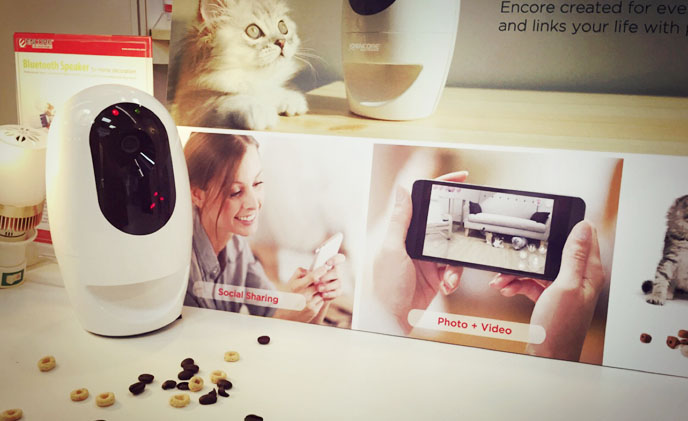 COMPUTEX Innovations: interactive pet camera, mobile POS system