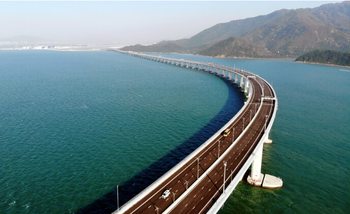 Bosch equips Hong Kong-Zhuhai-Macao Bridge with customized security