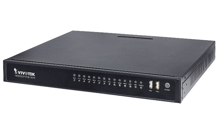 VIVOTEK launches embedded plug & play NVR ND8322P
