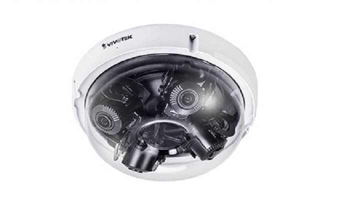 VIVOTEK introduces new multi-adjustable sensor dome network camera