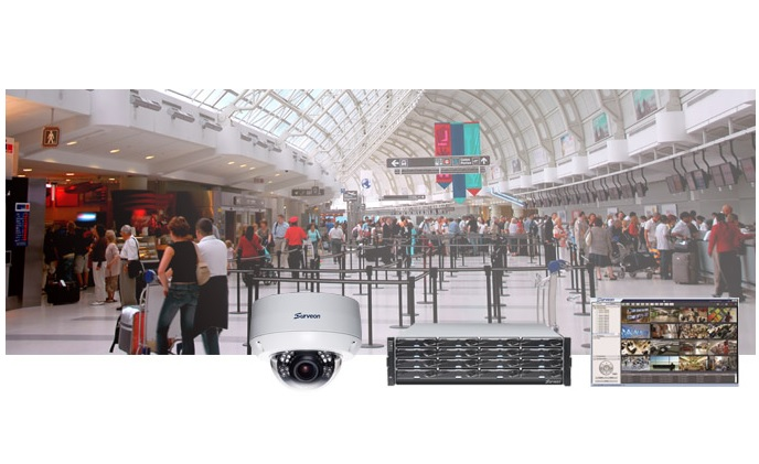 Surveon airport solutions keep security under control