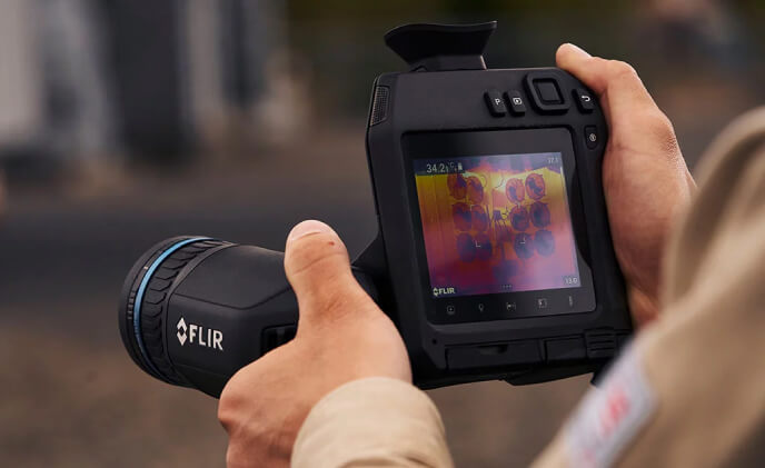 New FLIR T860 thermal camera streamlines industrial inspections