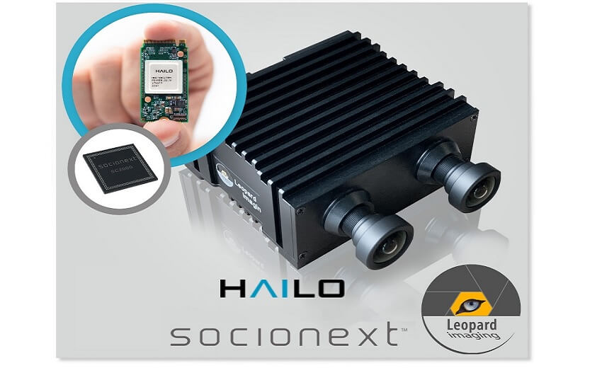 Leopard Imaging collaborates with Socionext, Hailo, and AWS to launch EdgeTuring