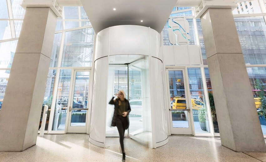 Boon Edam announces UL certification on newest revolving door