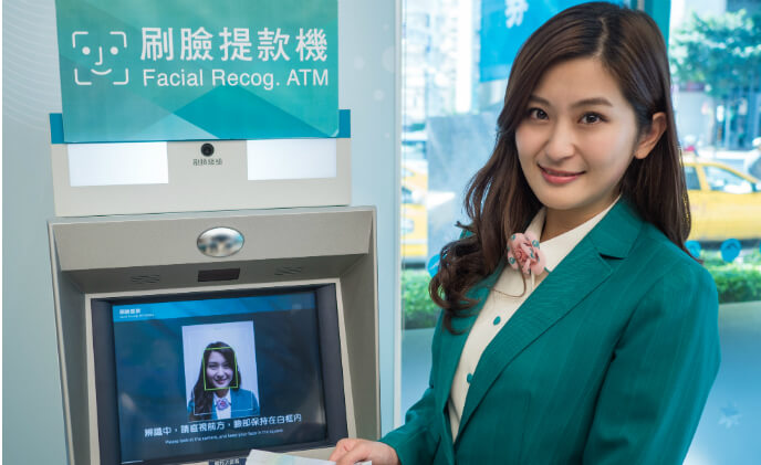 NEC provides facial recognition for E. SUN Commercial Bank in Taiwan