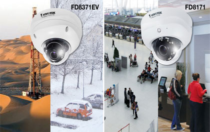 VIVOTEK released fixed dome FD8371EV and FD8171
