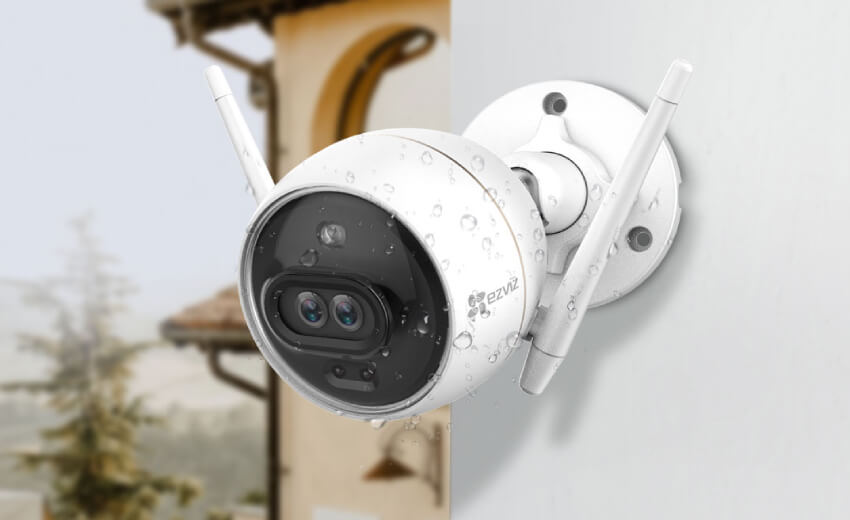 EZVIZ launches a dual-lens color night vision security camera 'C3X'