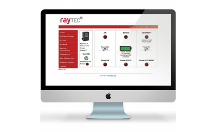 Raytec VARIO IP network illuminators now integrated with web interface