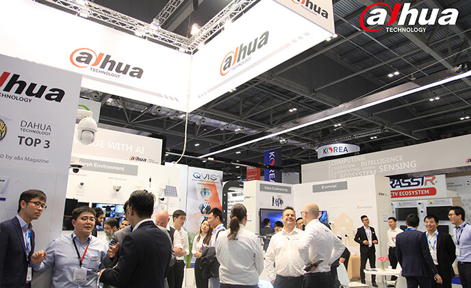 Dahua Technology lights up IFSEC International 2018 with AI in London