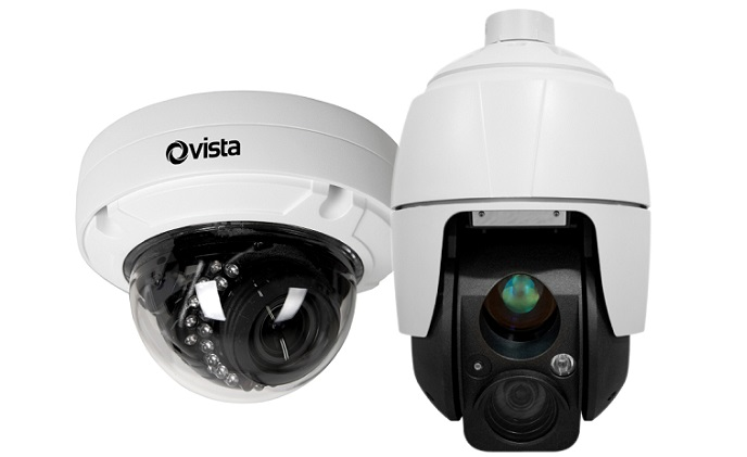 Norbain presents Vista's new VK2 dome camera and VK2 PTZ camera