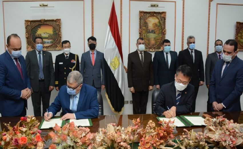 Hanwha Techwin signs MOU with the Ministry of Military Production in Egypt