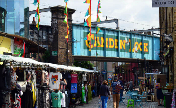 Camden Market relies on Synology for surveillance and storage