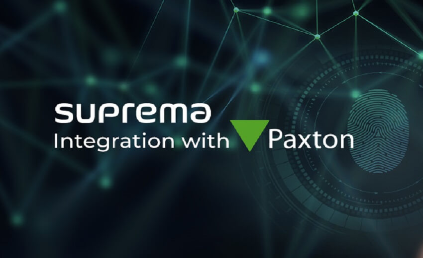Suprema achieves seamless integration with Paxton's Net2 access control